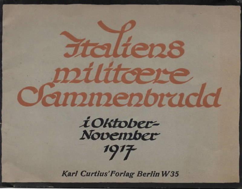 Italiens militære sammenbrudd i oktober-november 1917