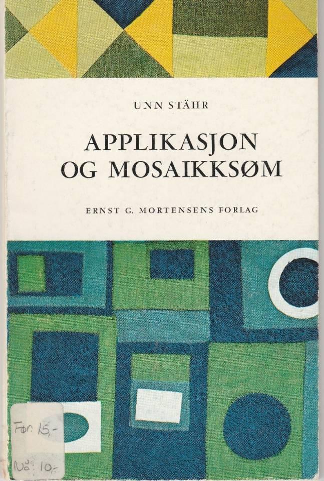 Applikasjon og mosaikksøm