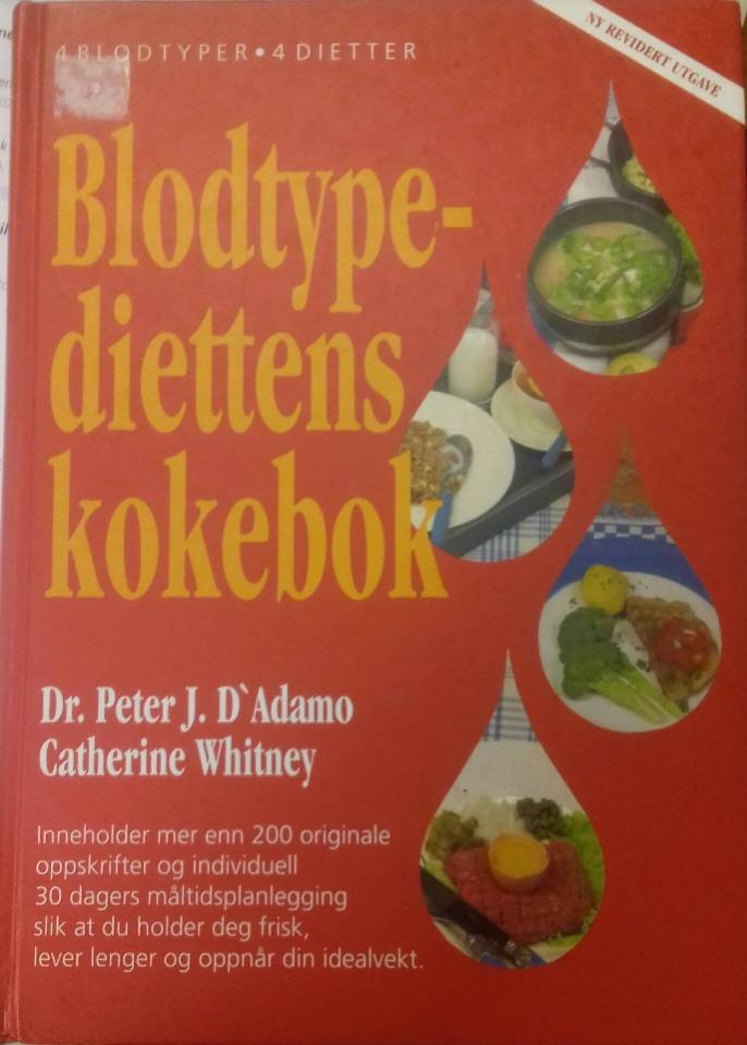 Blodtypediettens kokebok