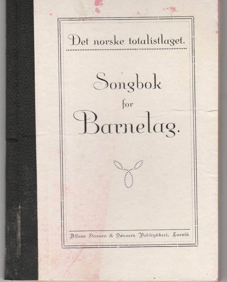 Songbok for Barnelag