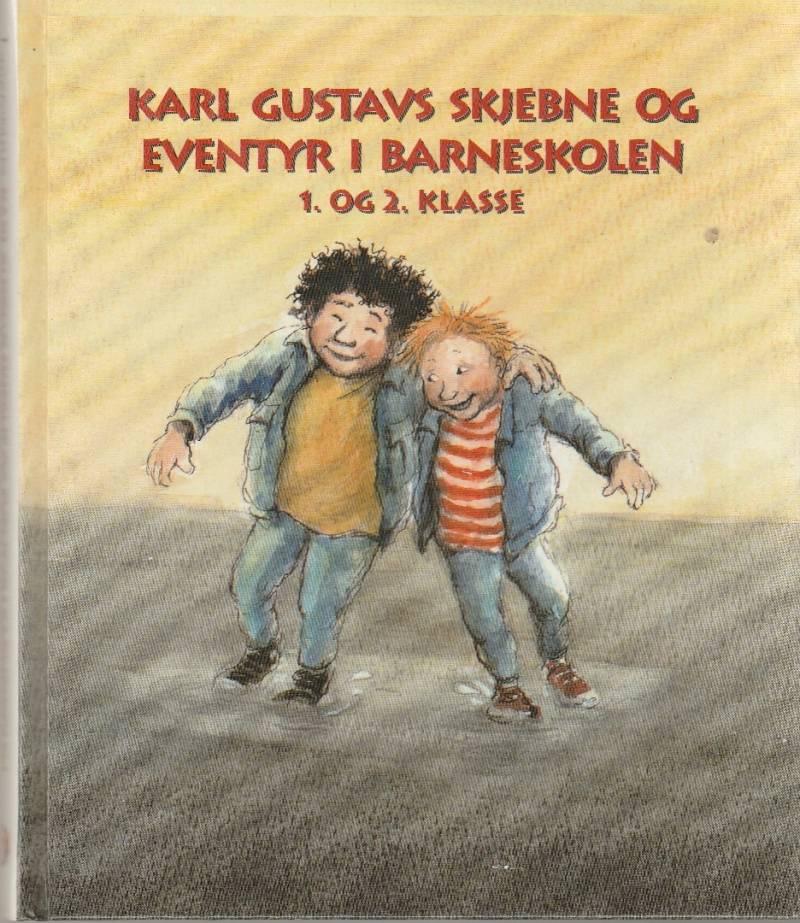 Karl Gustavs skjebne og eventyr i barneskolen.