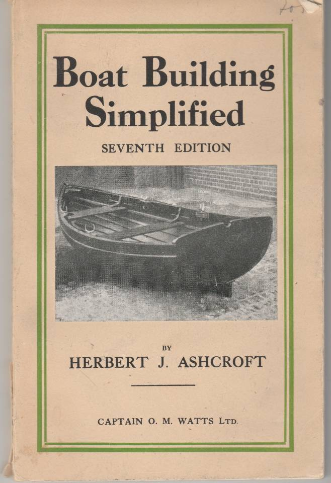 Boat Building Simplified
