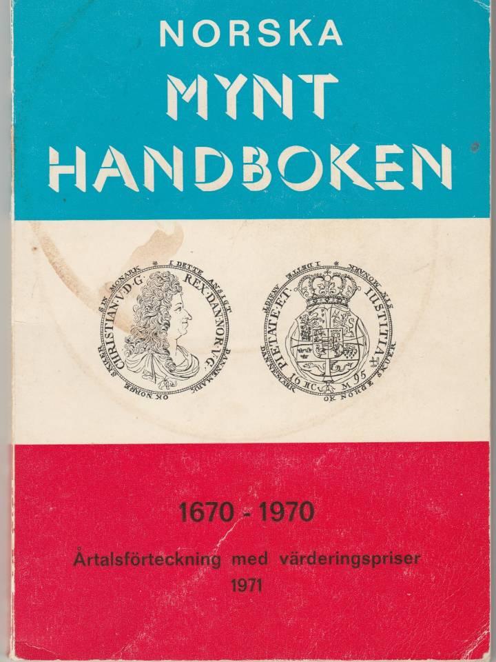 Norska mynt handboken