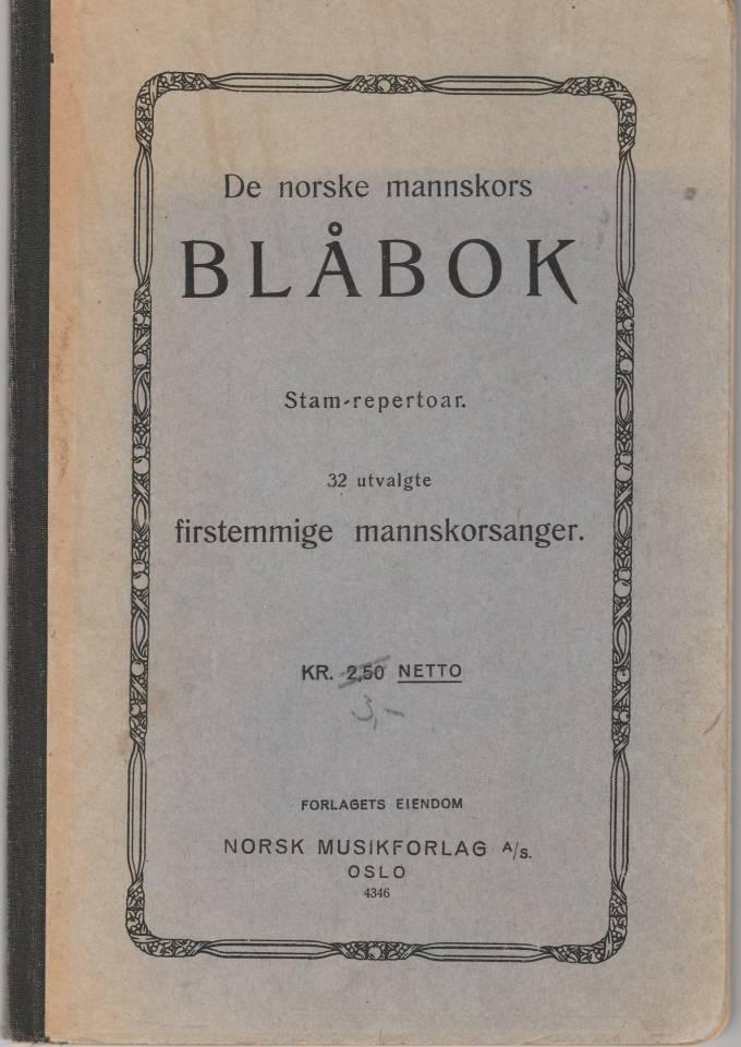 De norske mannskors BLÅBOK
