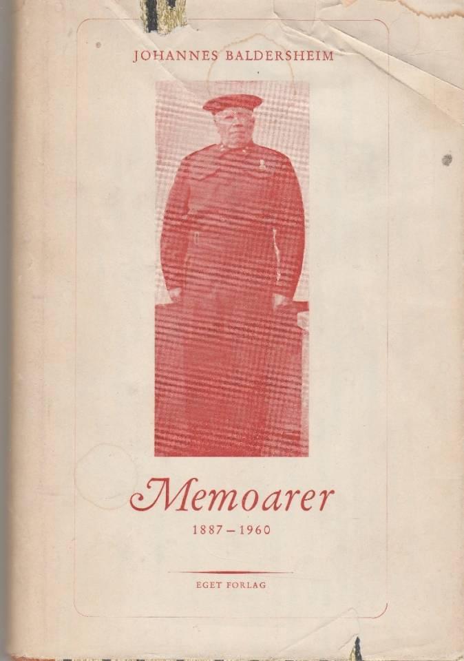 Memoarer 1887 - 1960