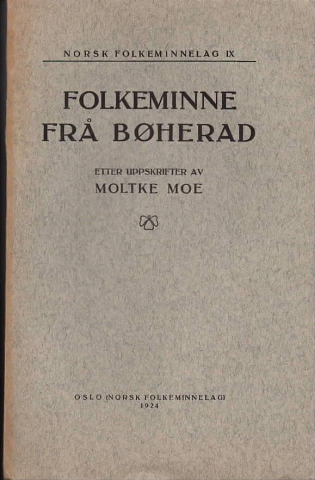 Folkeminne frå Bøherad
