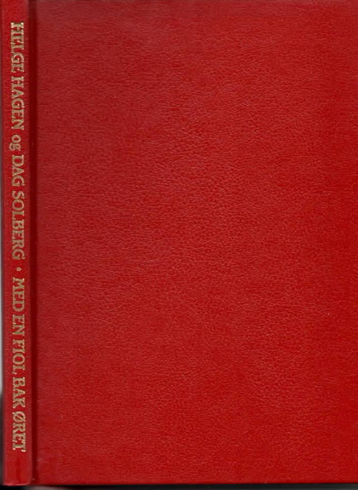 Med en fiol bak øret – en bok om Alf Prøysen
