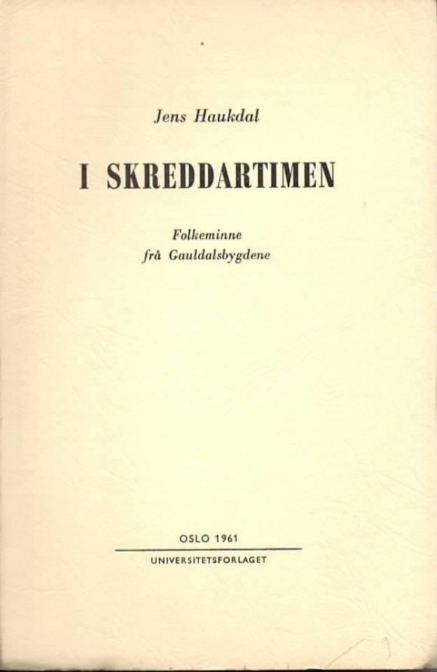I skreddartimen – Folkeminne frå Gauldalsbygdene