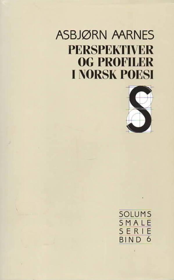 Perspektiver og profiler i Norsk poesi