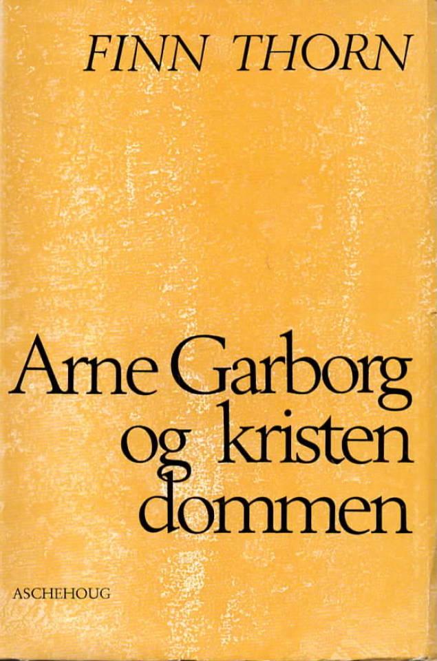 Arne Garborg og kristendommen