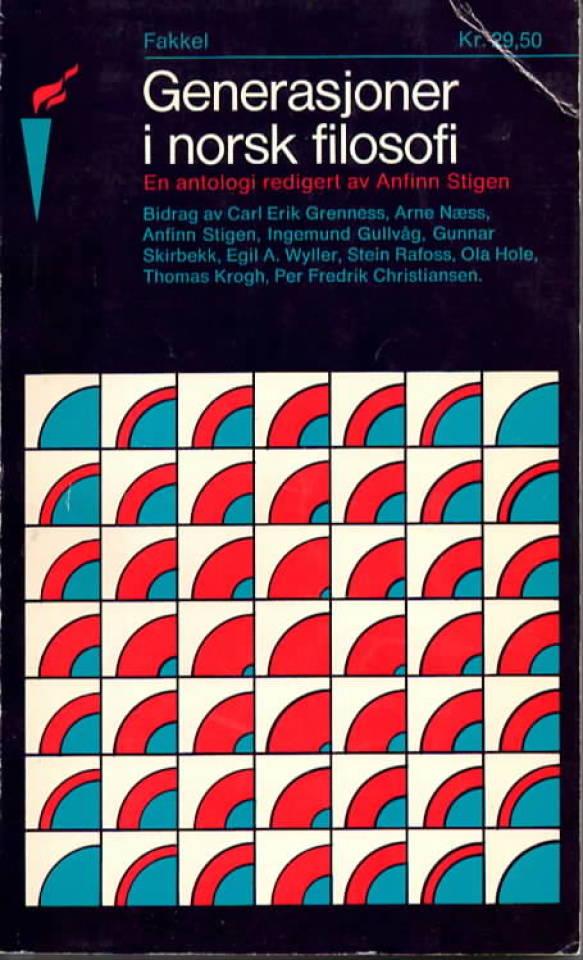 Generasjoner i norsk filosofi