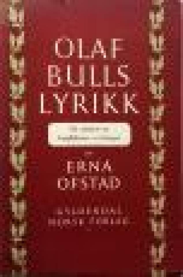 Olaf Bulls lyrikk