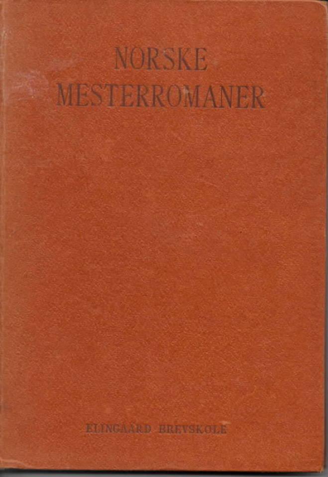 Norske mesterromaner