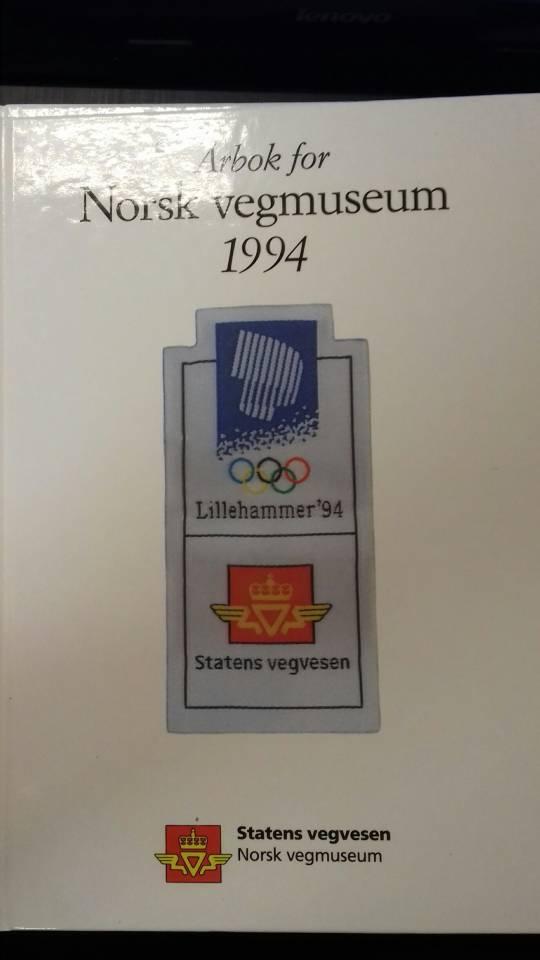 Årbok for Norsk vegmuseum 1994