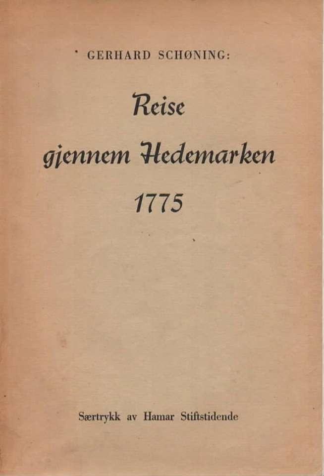 Reise gjennom Hedemarken 1775