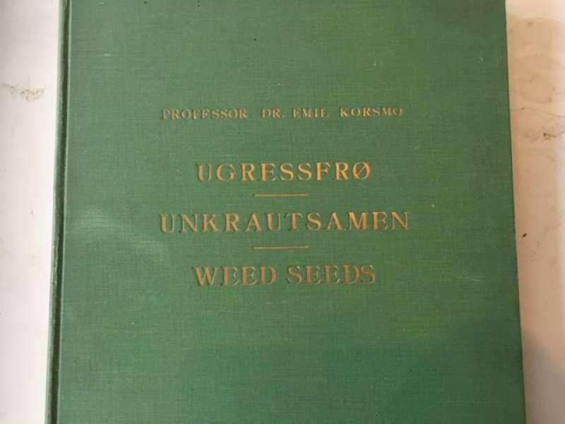 Ugressfrø - Unkrautsamen - Weed Seeds.