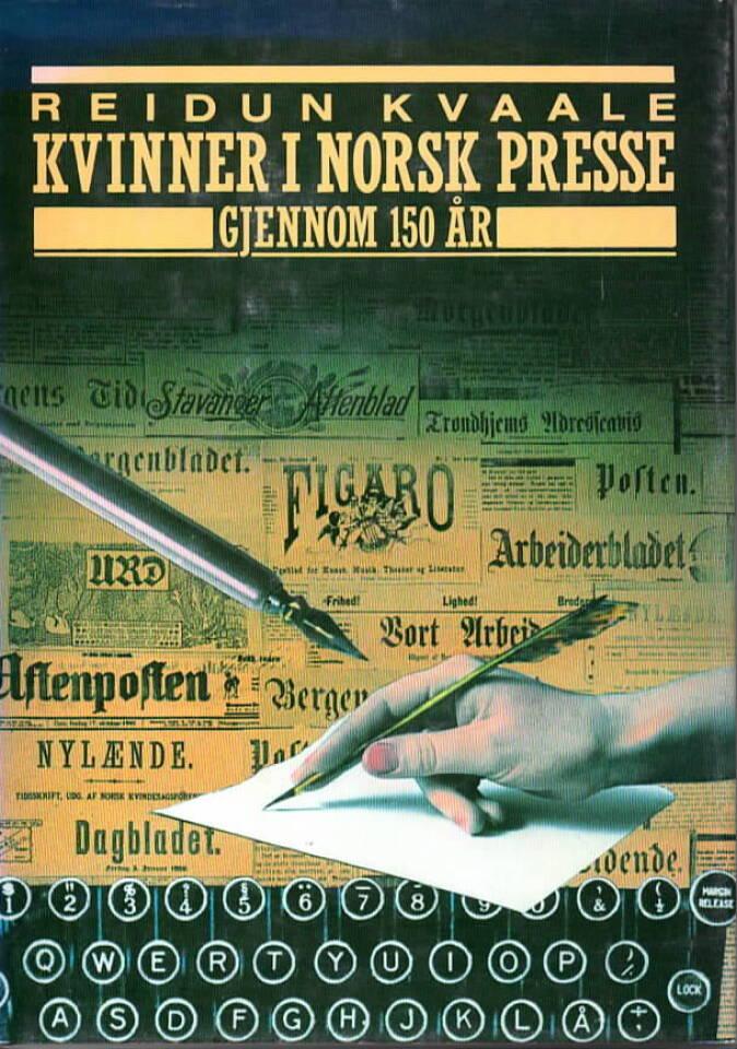 Kvinner i norsk presse gjennom 150 år