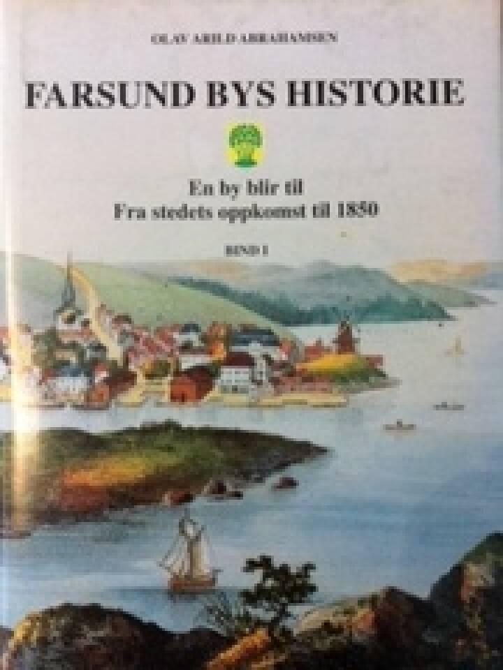 Farsund Bys historie bind 1 og 2