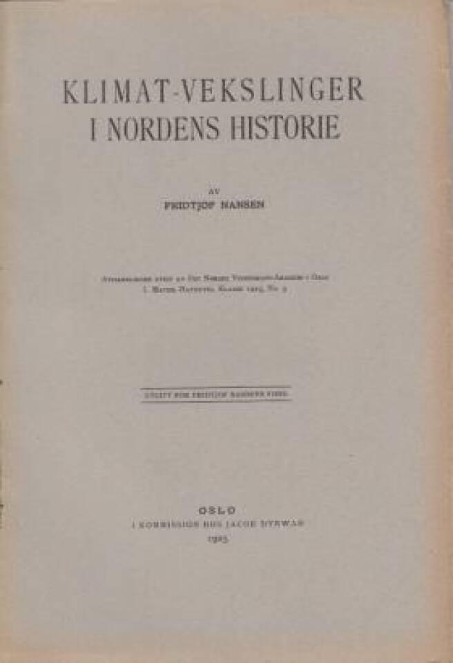 Klimat-vekslinger i Nordens historie