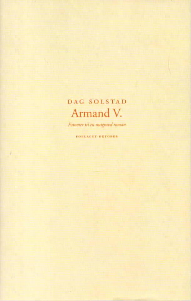 Armand V.