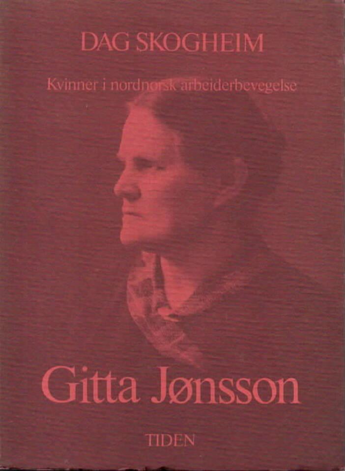 Kvinner i nordnorsk arbeidsbevegelse – Gitta Jønsson