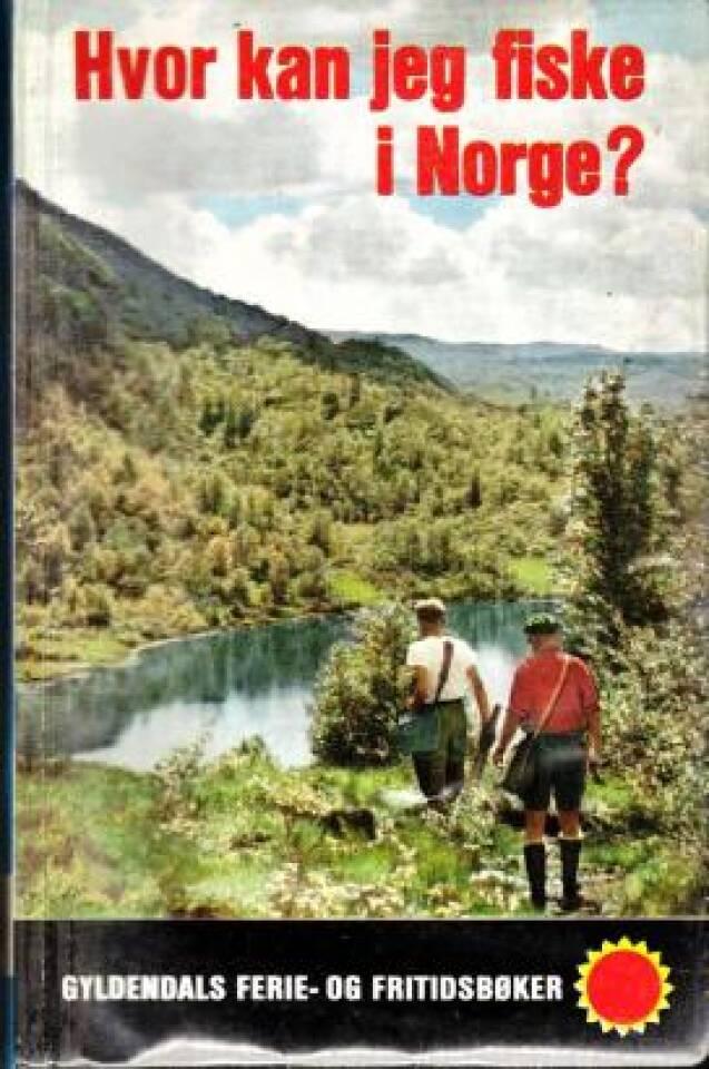 Hvor kan jeg fiske i Norge? Sørlige del