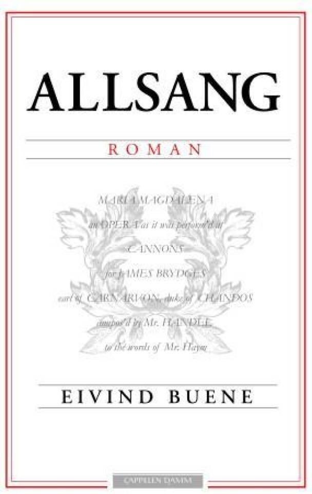 Allsang - roman