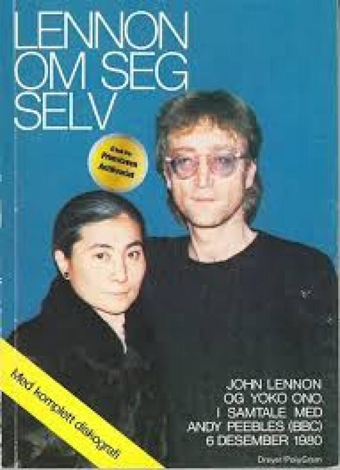 Lennon om seg selv