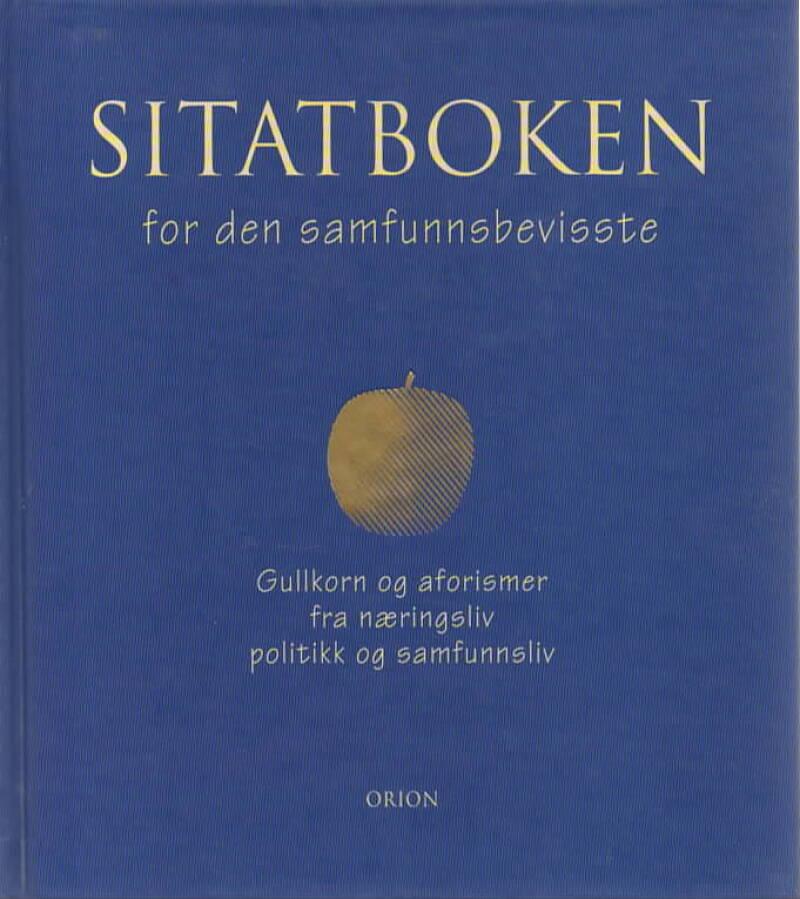 Sitatboken for den samfunnsbevisste