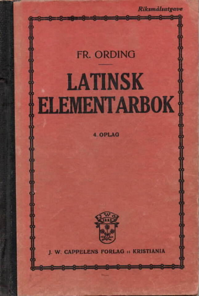 Latinsk elementarbok