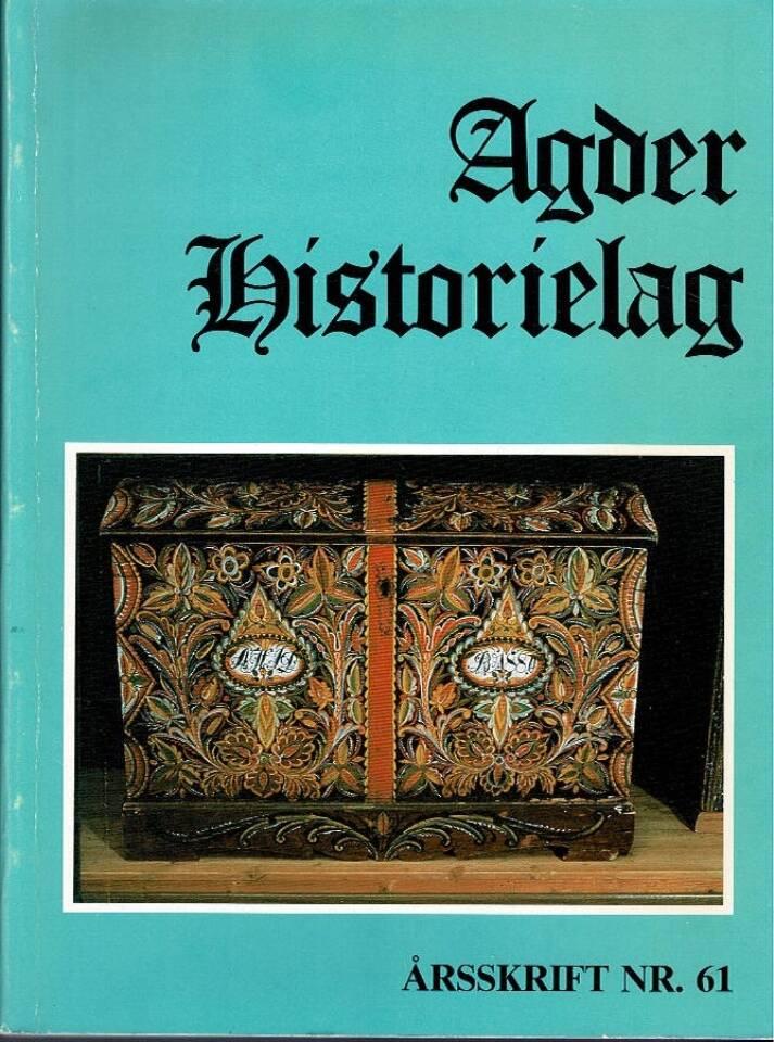 Agder Historielag nr 61