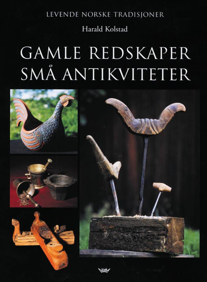 GAMLE REDSKAPER SMÅ ANTIKVITETER