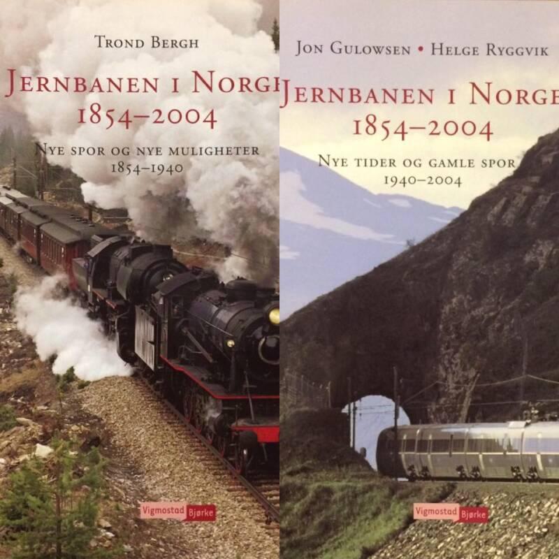 Jernbanen i Norge 1854-2004. Nye tider og gamle spor 1940-2004. Nye spor og nye muligheter 1854-1940