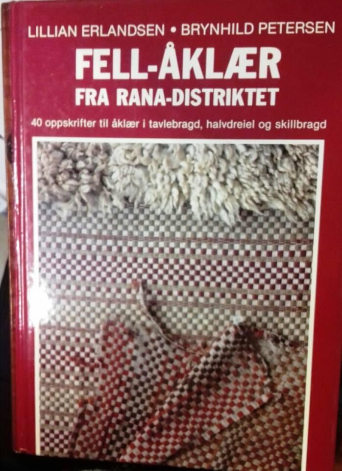 Fell-åklær fra Rana-distriktet