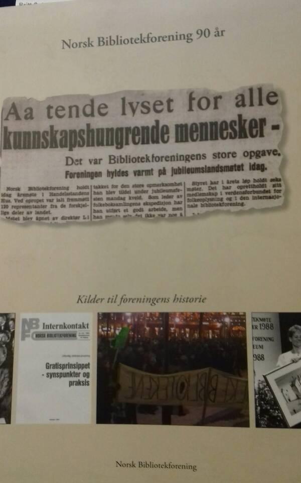 Norsk Bibliotekforening 90 år