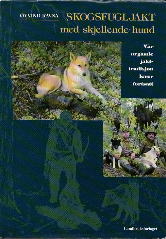 Skogsfugljakt med skjellende hund