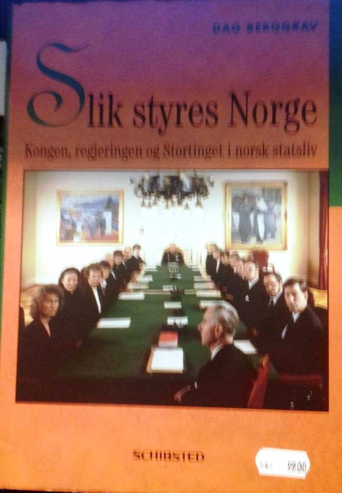 Slik styres Norge
