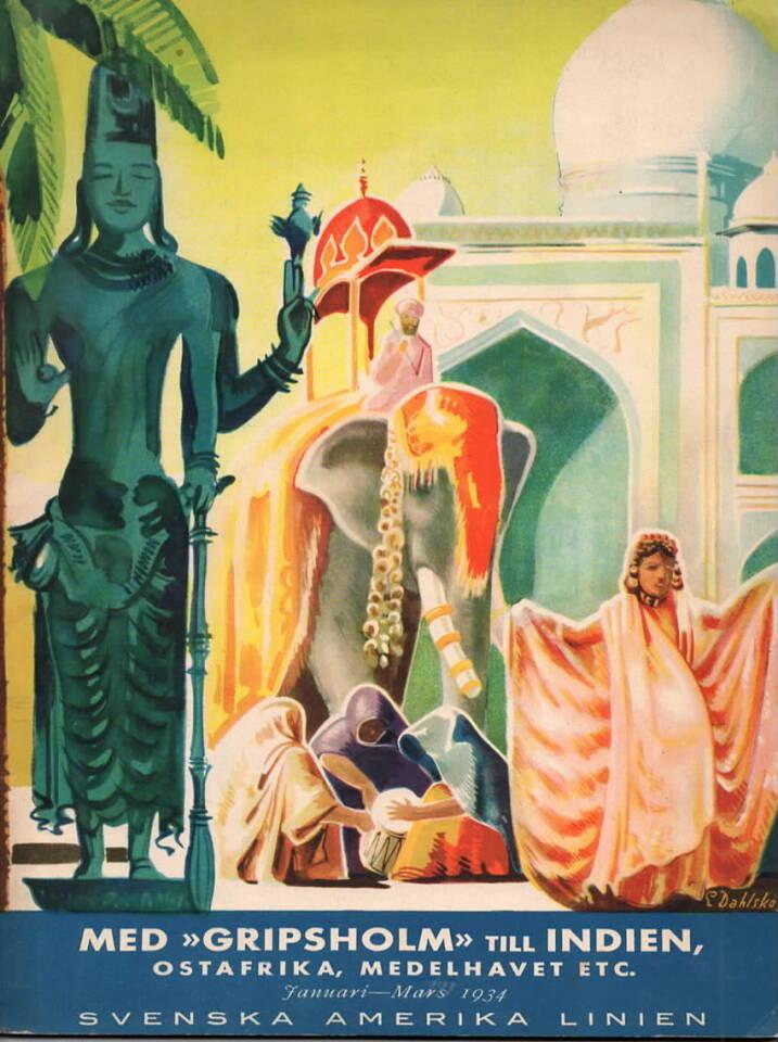 Med «Gripsholm» till Indien