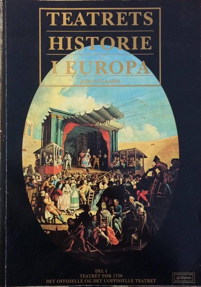 Teatrets historie i Europa I-III