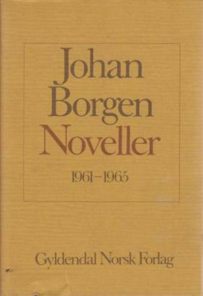 Noveller 1961-1965