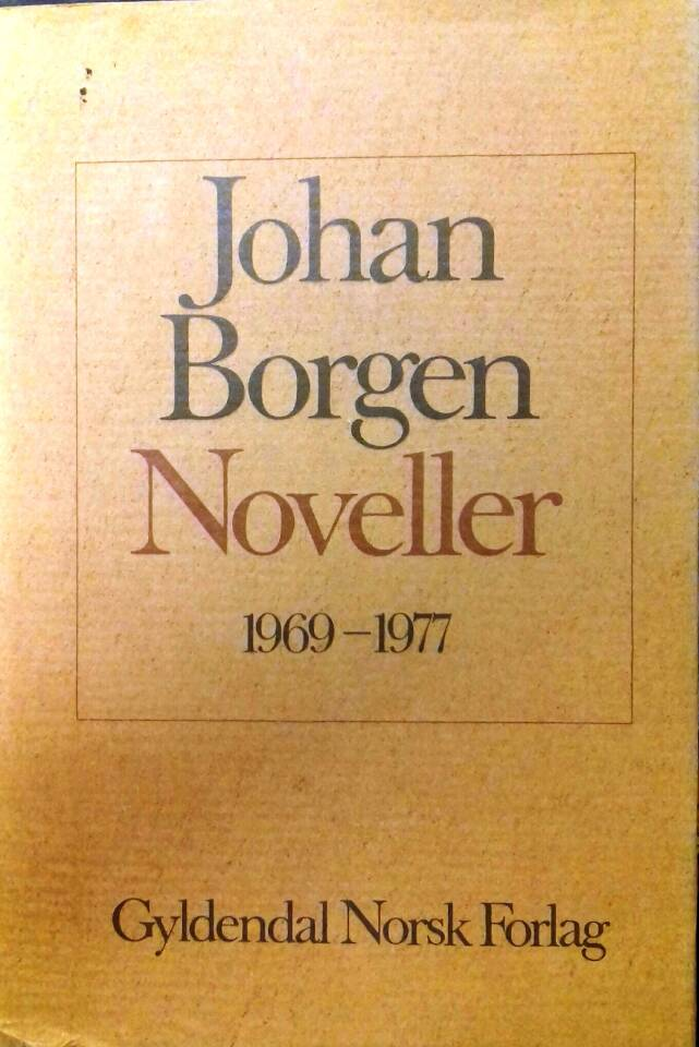 Noveller 1969-1977