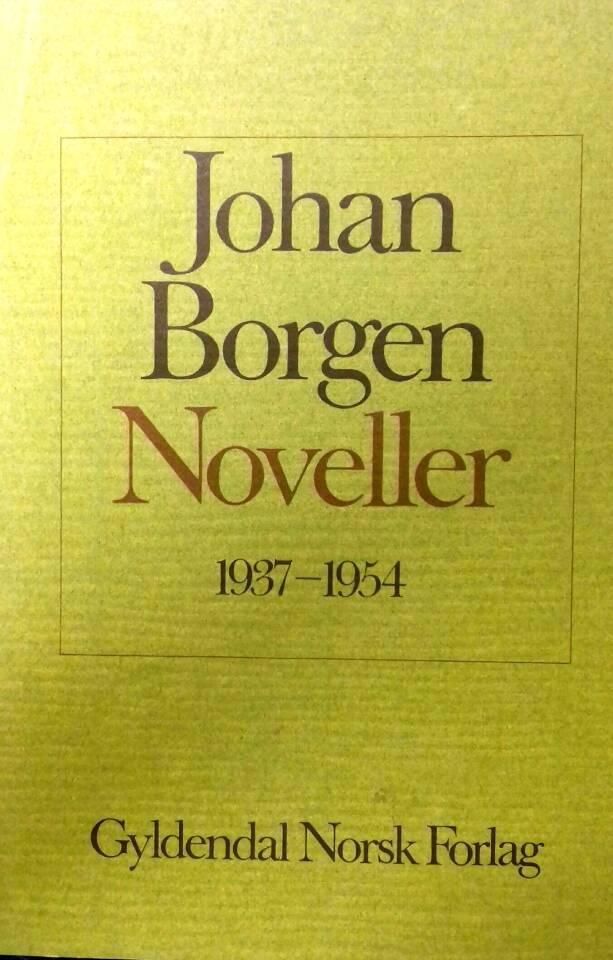 Noveller 1937-1954
