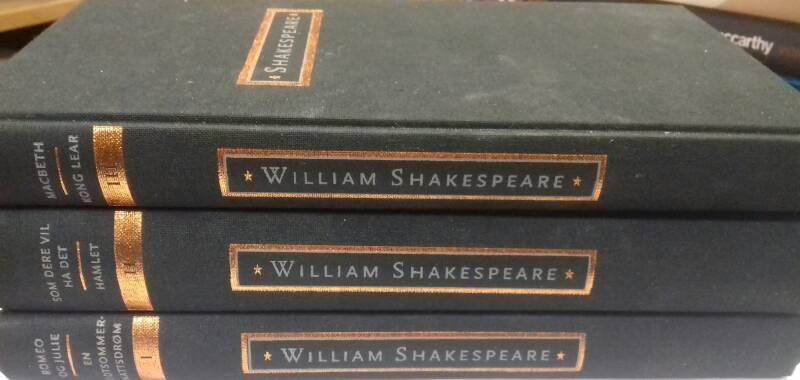 Shakespeare - 3 bind