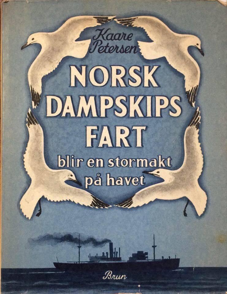 Norsk dampskipsfart blir en stormakt på havet