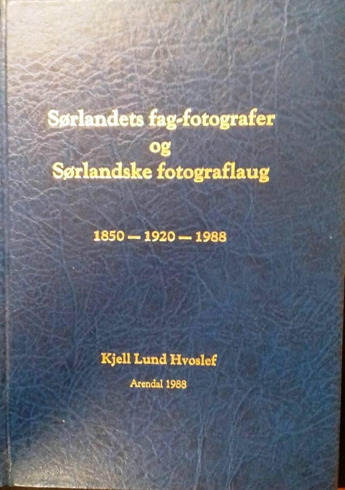 Sørlandets fag-fotografer og Sørlandske fotograflaug