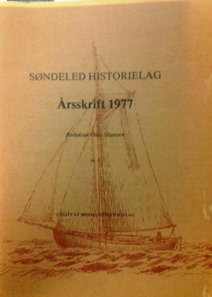 Søndeled historielag Årsskrift 1977
