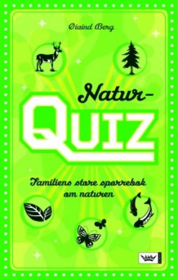 Naturquiz. Familiens store spørrebok om naturen