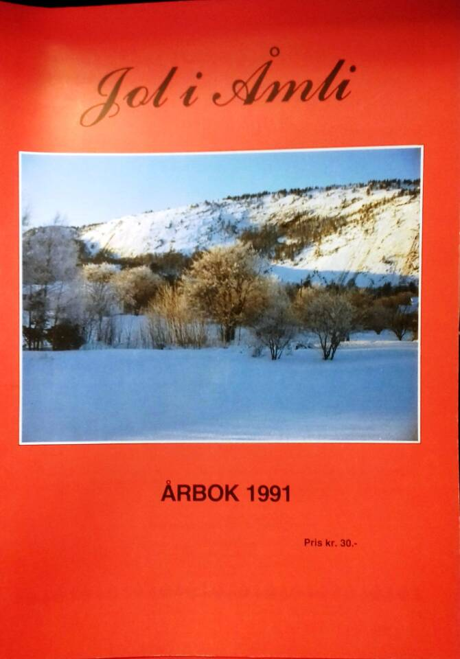 Jol i Åmli - årbok 1991