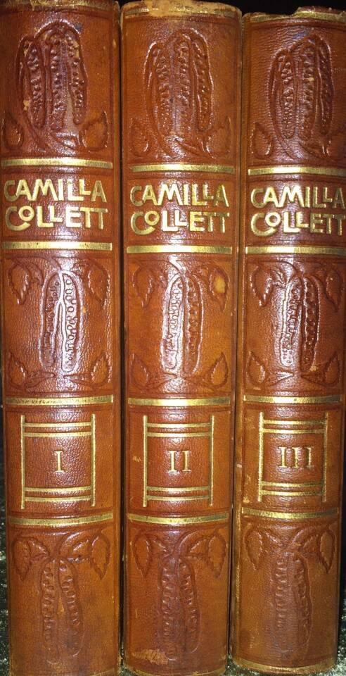 Camilla Collett Samlede Verker Mindeudgave I-III