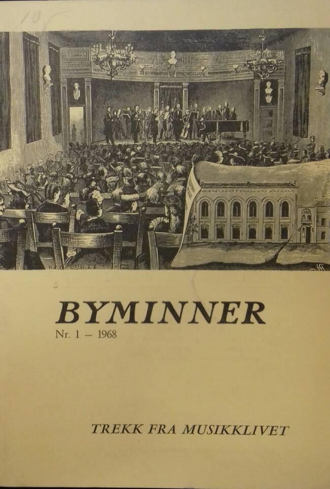 Byminner Nr. 1 - 1968